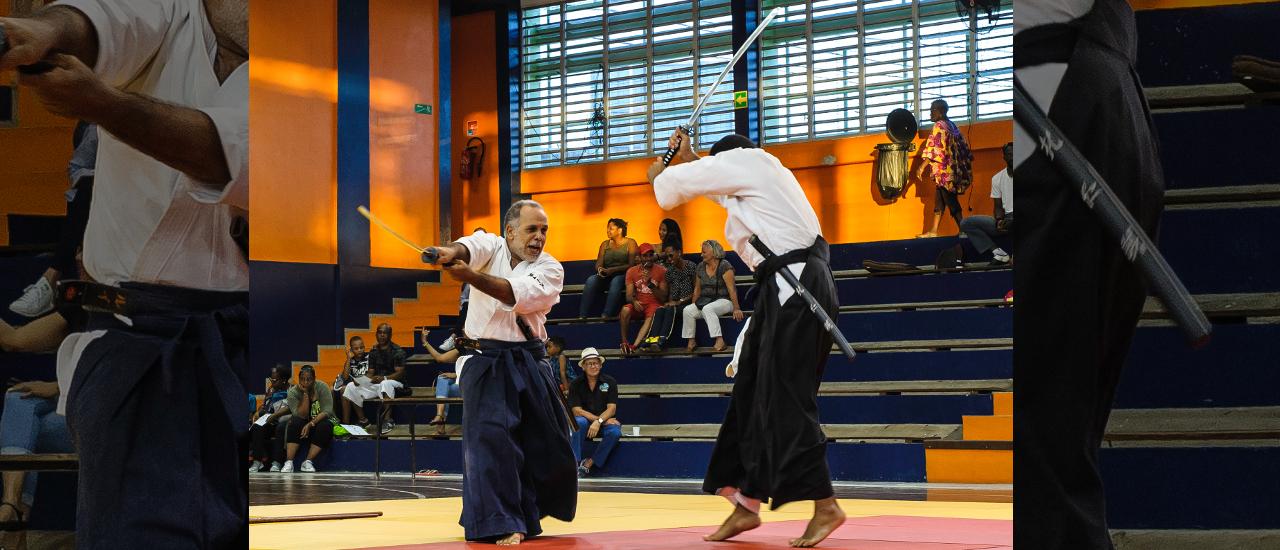 Fête de l'aikido au Hall Pelliere Donatien